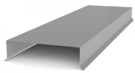 Парапет для забору плоский 100 мм