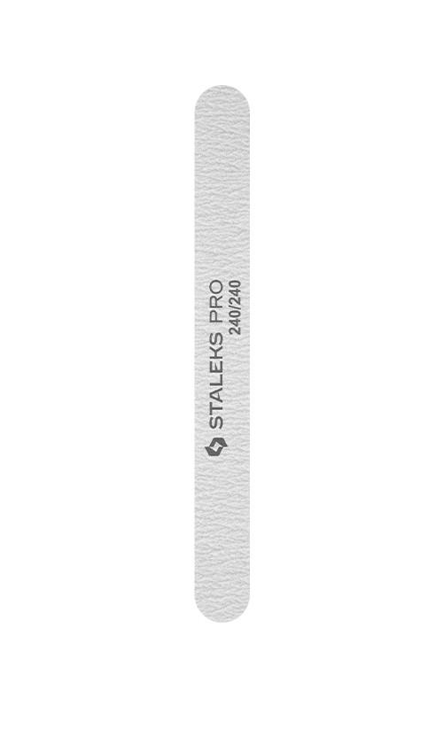 Staleks 21/7-NFB Пилка прямая минеральная для ногтей Smart 240/240 грит