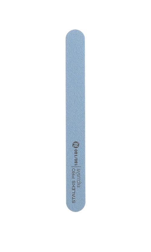 Staleks 22/6-1-NFX Пилка пряма мінеральна для нігтів Exclusive без пены180/180 грит