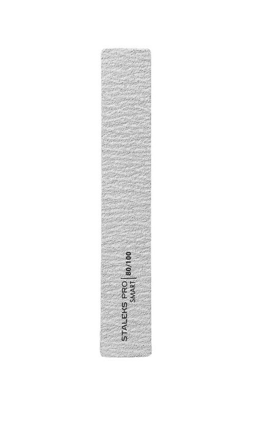 Staleks 31/5-NFB Пилка широкая прямая минеральная для ногтей Smart 80/100грит