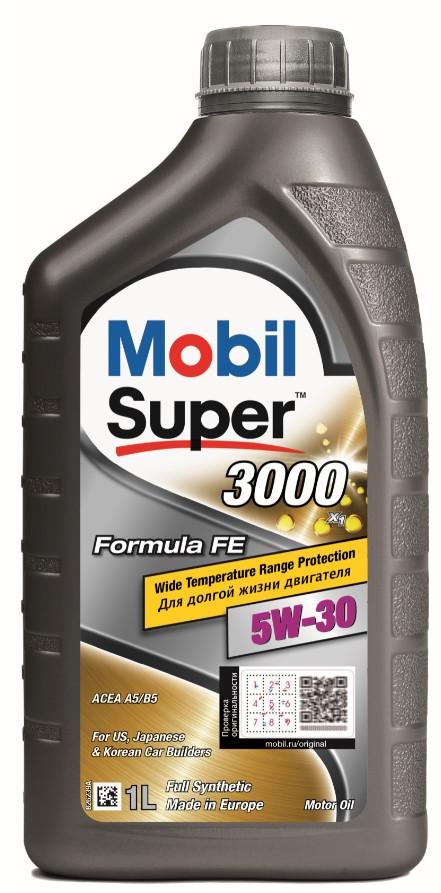 Масло моторное MOBIL SUPER 3000 F-FE 5W30