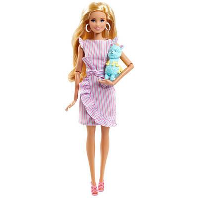 Кукла барби тини с ламой коллекционная barbie tiny wishes doll