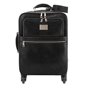 Шкіряні валізи (сумки) на колесах