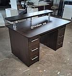 Письменный стол с ящиками и полкой V606, фото 2
