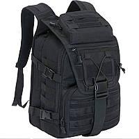 Рюкзак тактический Eagle M09B (штурмовой, военный) мужская сумка Черный 25 л.