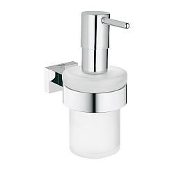 Дозатор для жидкого мыла Grohe Essentials Cube 40756001
