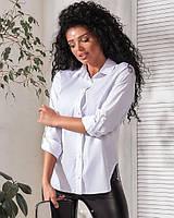 Женская летняя рубашка классическая