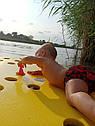 Матрас для отдыха и купания на воде из ЕВА (плот для аквафитнеса) 1450*820*30, фото 7