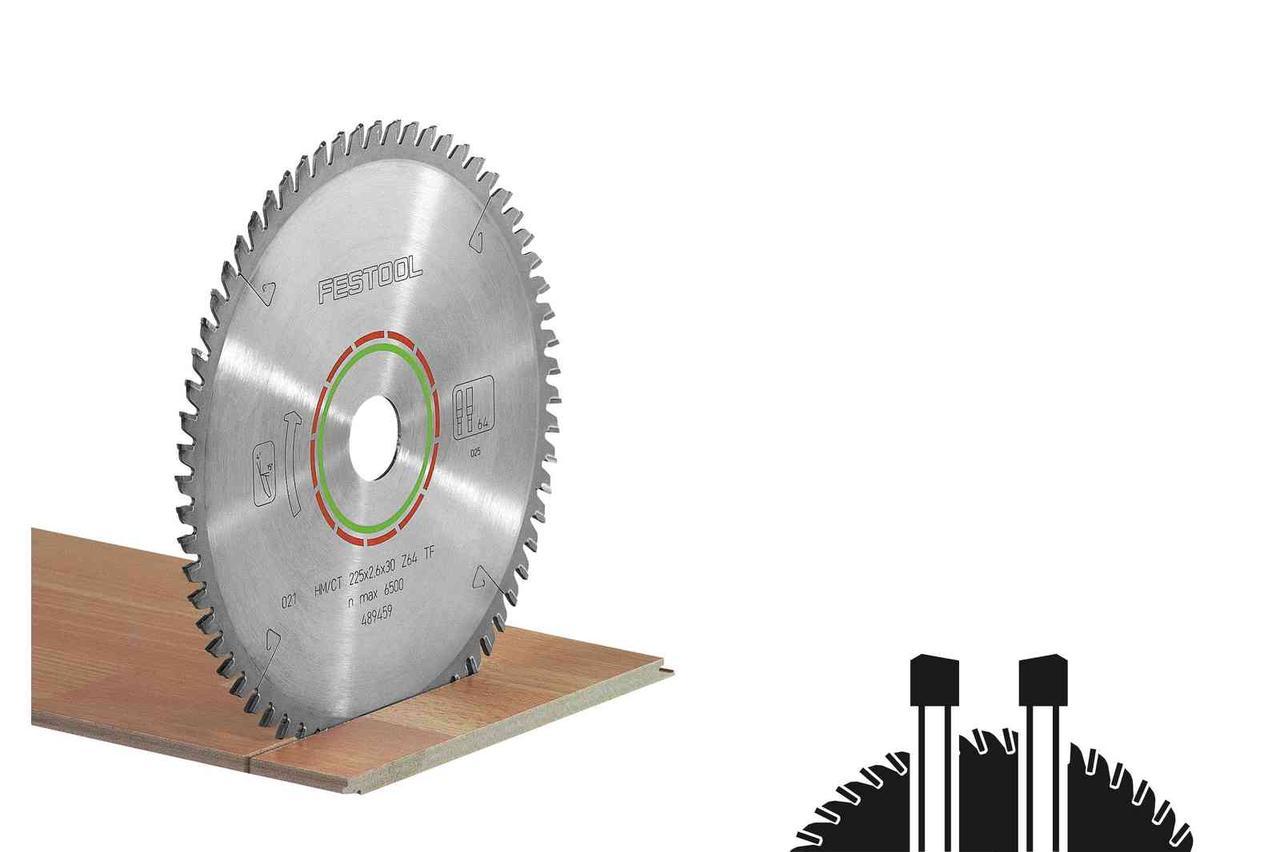 Пильний диск спеціальний HW 216x2,3x30 WZ/FA60