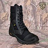 Берці демісезонні B2 військові чорного кольору демі/зима, фото 3