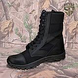 Берці демісезонні B2 військові чорного кольору демі/зима, фото 2