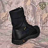 Берці демісезонні B2 військові чорного кольору демі/зима, фото 5