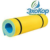 Коврик для фитнеса Optima Plus 1800*600*8 мм, фото 1
