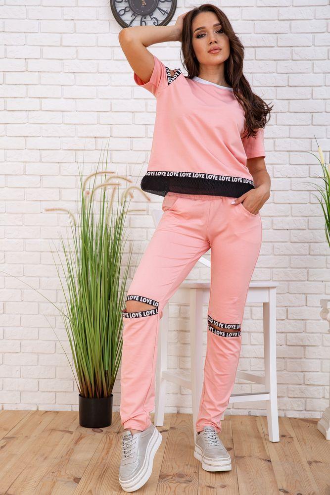 Спортивний костюм для жінок колір рожевий розмір S SKL87-297555