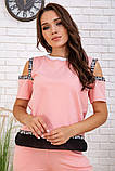 Спортивний костюм для жінок колір рожевий розмір S SKL87-297555, фото 4
