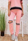 Спортивний костюм для жінок колір рожевий розмір S SKL87-297555, фото 5