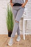 Спортивний костюм для жінок колір сірий розмір S SKL87-297557, фото 5