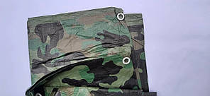 """Тент Камуфляж """"Хакі"""" 10х12м, щільність 100 г/м2, фото 2"""