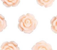 Кабошон 10мм Роза св.персиковая, фото 1