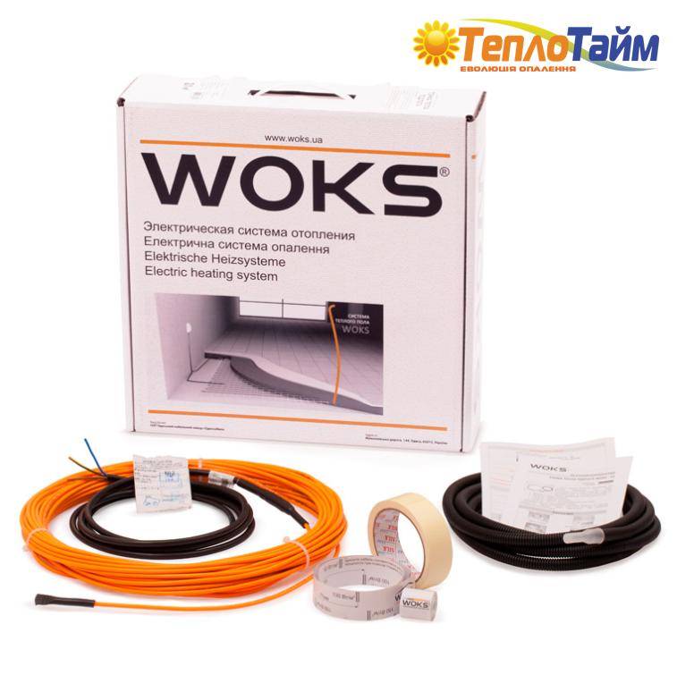 Комплект для тонкої теплої підлоги WOKS-10-220, 23 м