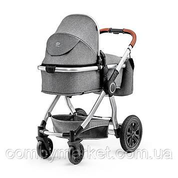 Універсальна коляска 2 в 1 Kinderkraft Veo Gray (KKWVEOGRY20000)