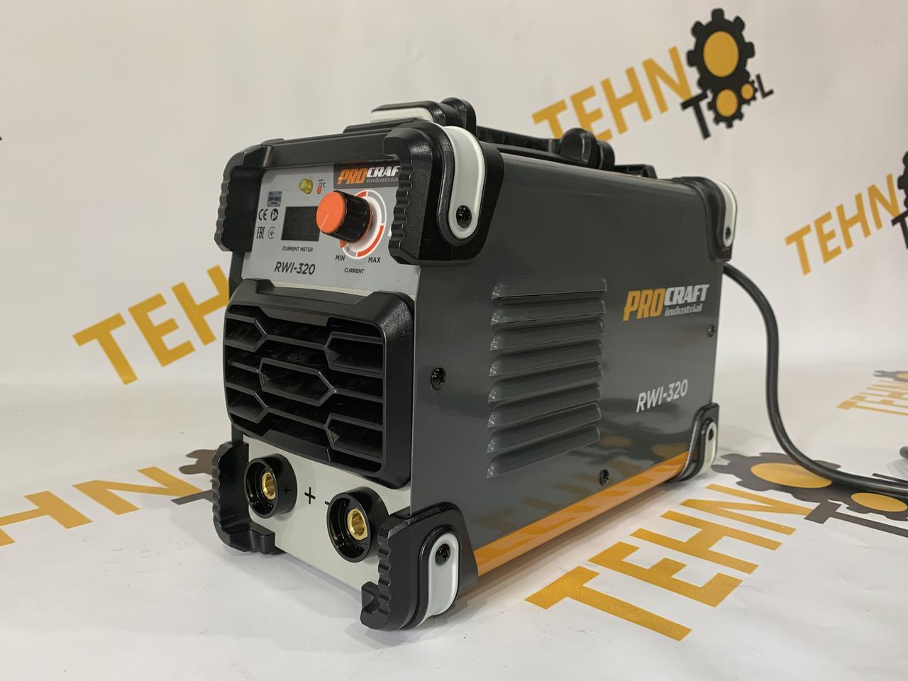 Інверторний зварювальний апарат Procraft industrial RWI320