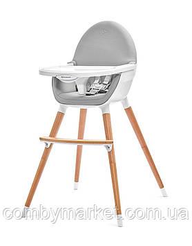 Стульчик для кормления 2 в 1 Kinderkraft Fini Gray (KKKFINIGRY0000)