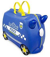 Trunki Каталка-Валіза Percy Police Car