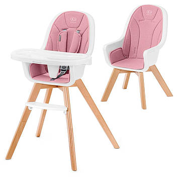 Стульчик для кормления Kinderkraft Tixi Gray (KKKTIXIGRY0000) Розовый
