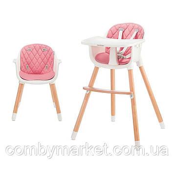 Стульчик для кормления Babytiger Tini Gray (BTKTINIGRY0000) Розовый