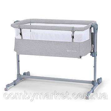 Приставная кроватка-люлька Kinderkraft Neste Air Grey (KKLNEAIRGRY000)