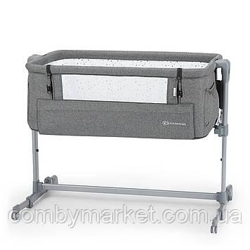 Приставная кроватка-люлька Kinderkraft Neste Up Beige (KKLNESTBEG000N) серый