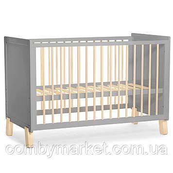 Детская кроватка Kinderkraft Nico Gray (KKHNICOGRY000N)