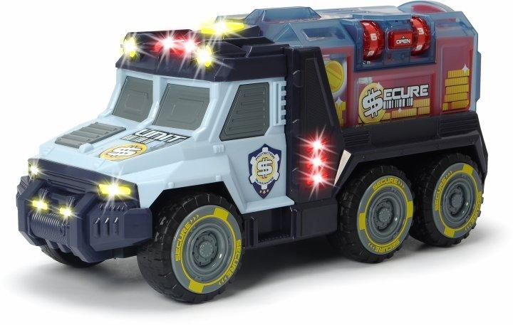 """Автомобиль Dickie Toys """"Инкассатор"""" с кодовым замком, со звуком и световыми эффектами 35 см 3756005"""