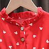 Платье для девочки красное 4845, фото 5