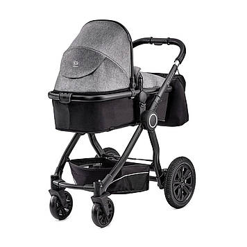 Універсальна коляска 2 в 1 Kinderkraft Veo Black/Gray (KKWVEOBLGR2000)