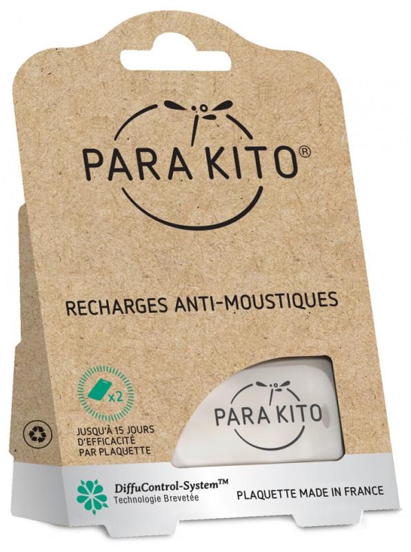Запасні пластини для браслета або кліпси Паракито Parakito Mosquito Repellent Refills 2 шт