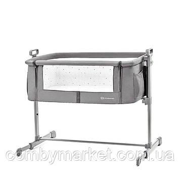 Приставная кроватка-люлька Kinderkraft Neste Grey (KKLNESTGRY0000)