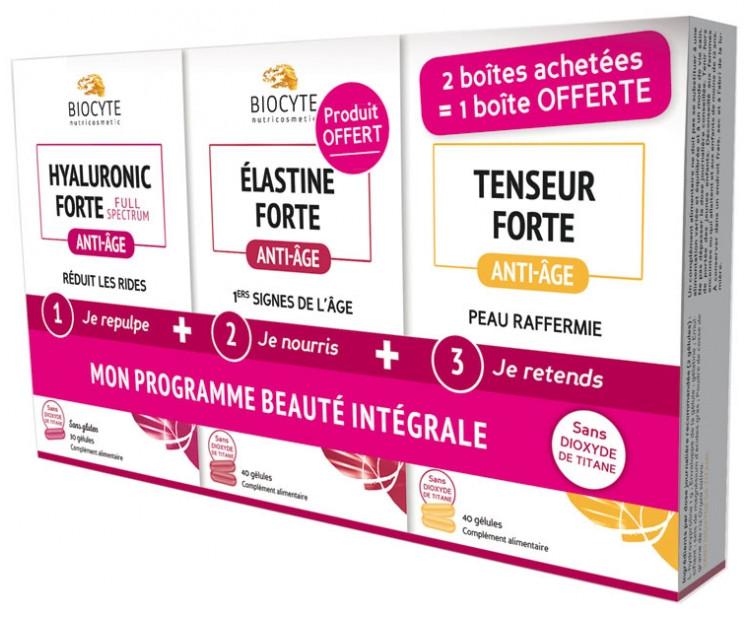 Биоцит Моя Комплексная Программа Красоты 2 упаковки + 1 в подарок Biocyte My Integral Beauty Program 2 Boxes +