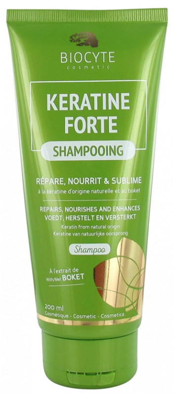 Биоцит Кератин Форте Шампунь Biocyte Keratine Forte Shampoo 200мл