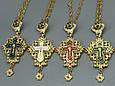 Крест Священнослужителя, синий, фото 4
