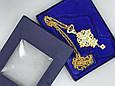 Крест Священнослужителя, синий, фото 2