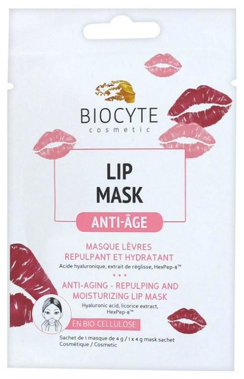 Маска для губ Биоцит Biocyte Lip Mask Anti-Aging Repulping and Moisturizing Lip Mask 4г