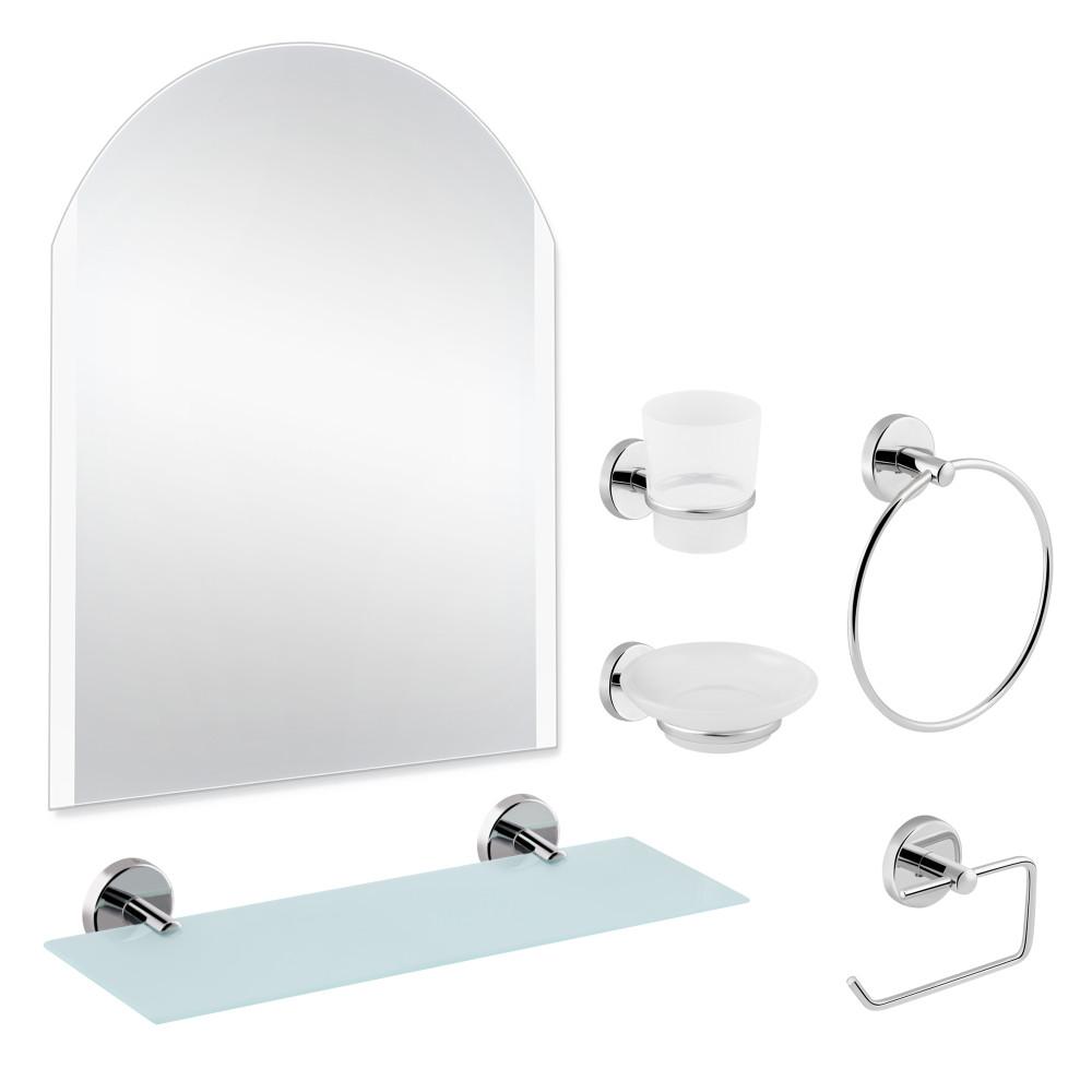 Набір для ванної кімнати SW 22-100 з дзеркалом 5 в 1