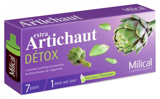 Екстра артишок-детокс Milical Extra Artichaut Détox 7 доз