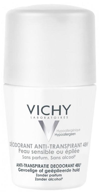 """Шариковый дезодорант-антиперспирант """"48 часов. Для чувствительной кожи"""" Vichy Déodorant Anti-Transpirant 48H"""