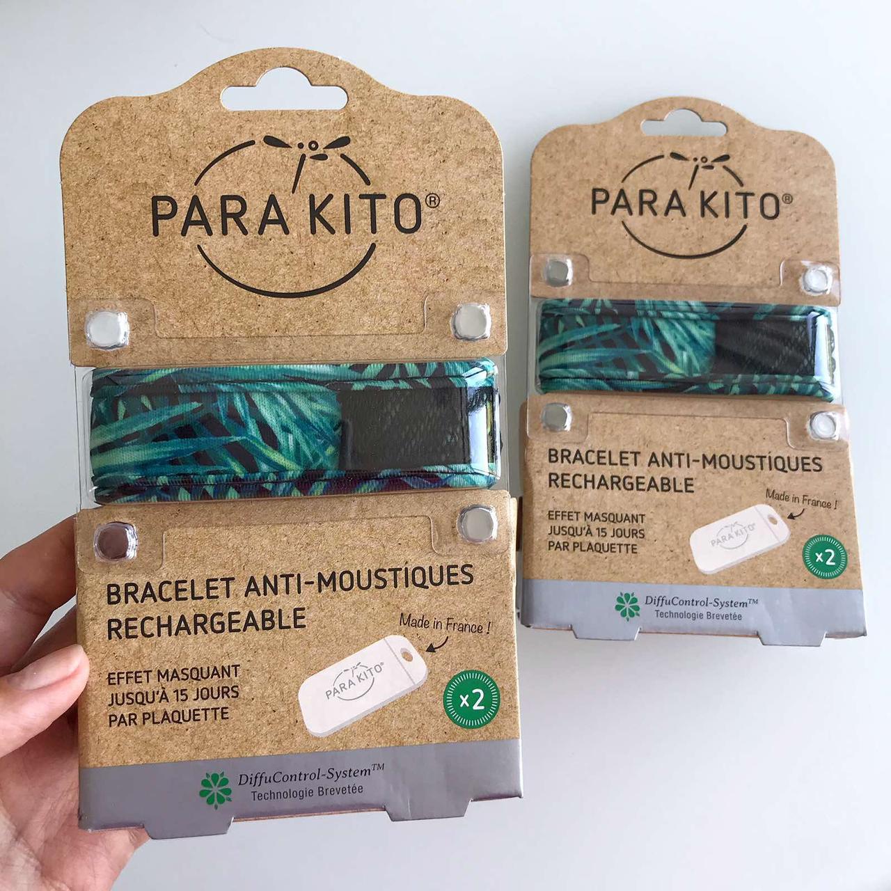 Браслет для защиты от комаров Паракито Parakito Anti-Mosquitoes Bracelet ОРИГИНАЛ