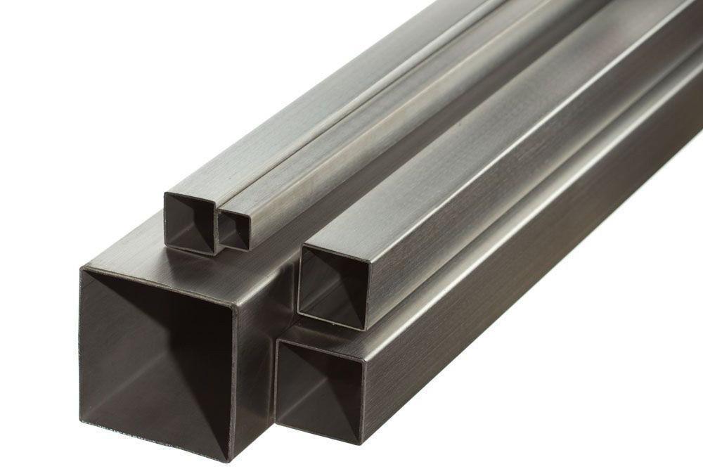 Труба профильная бесшовная 40х40х3, сталь 20, Длина до 12, Гост 8645