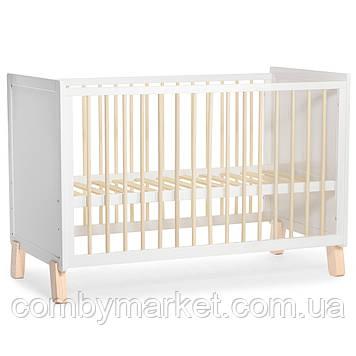 Дитяче ліжечко Kinderkraft Nico Gray (KKHNICOGRY000N) Білий