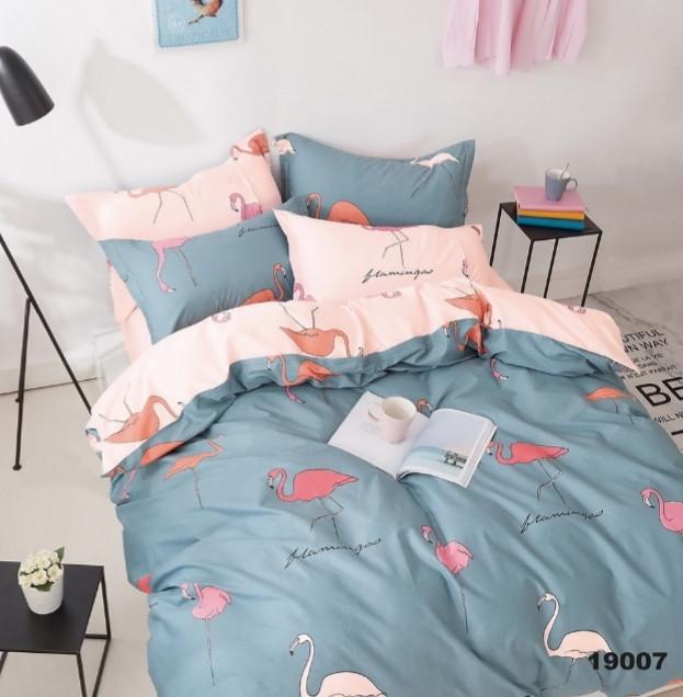 Комплект постельного белья Viluta ранфорс подростковый 19007